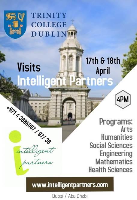 TCD visit poster